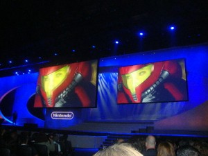 The first images of the new Metroid: Other M title.