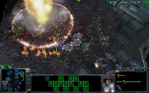 There's nothing like sweet, sweet StarCraft victory. And explosions to go along with it.
