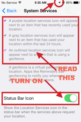 Privacy settings you should enable in iOS 7 immediately - Jason O'Grady