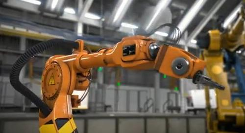 cisco robots, self-healing assembly lines