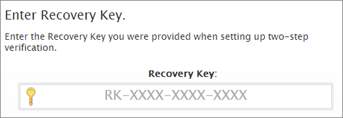 recoverykey