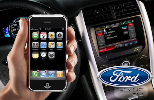 Ford Sync Iphone >> Software Update Allows Ford Sync Users To Use Siri Eyes Free