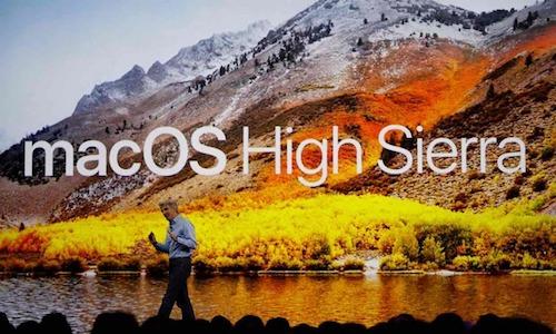 Apple releases macOS High Sierra 10.13.1 update