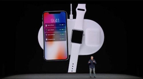 Apple unveils AirPower charging plate, will allow for multiple devices to be charged simultaneously