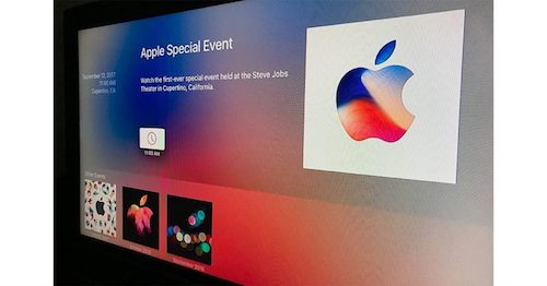 Apple Events app for Apple TV updated, ready for September 12th media event
