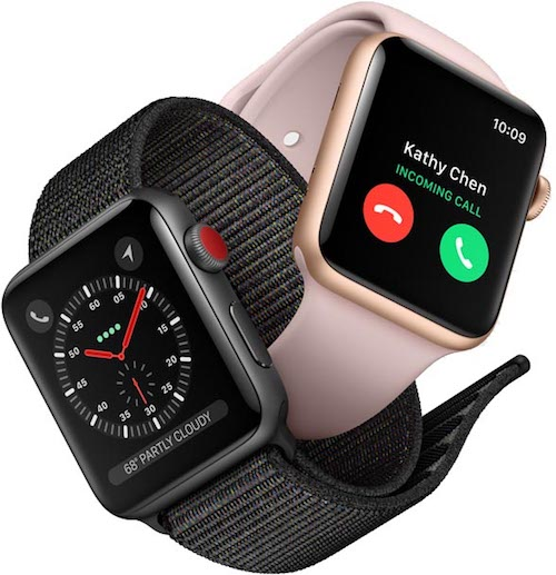 Apple announces Apple Watch Series 3 models, will offer LTE functionality on higher-end models