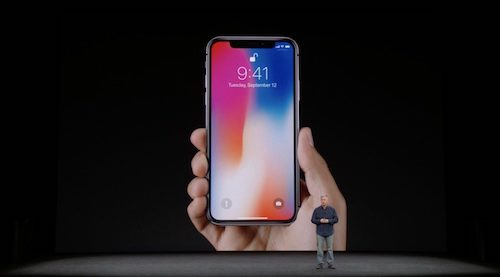 iPhone X announced at Apple press event
