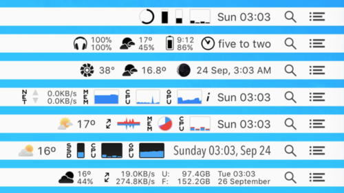 iStat Menus updated to 6.00, offers massive number of new features and improvements