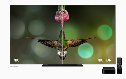 Apple announces Apple TV 4K, incorporates HDR functionality into new model