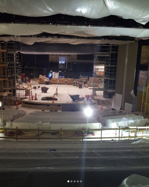 Steve Jobs Theater construction photos leaked