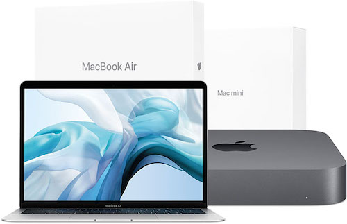 Apple places certified refurbished 2018 MacBook Air, Mac mini units, for sale in the United States